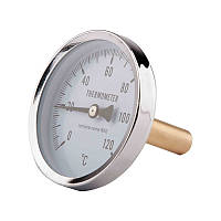 "Термометр SD Plus  63мм 1/2"" 40 мм, заднее подключение"