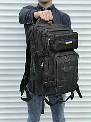 Качественный тактический рюкзак на 25 литров, хаки