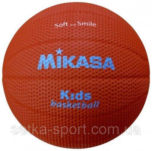 М'яч баскетбольний для дітей Mikasa SB512-BR - розмір 5