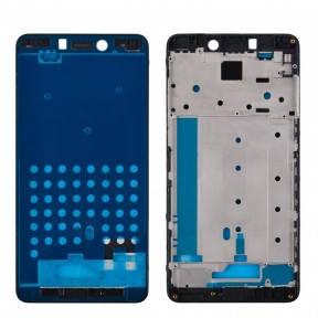 Рамка дисплея Xiaomi Redmi Note 4 черная, фото 2