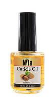 Nila Cuticle Oil Масло для кутикул Almond (миндаль) 12мл, 0.5oz