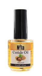 Nila Cuticle Oil Олія для кутикули Almond (мигдаль) 12мл, 0.5 oz