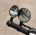Дзеркало заднього виду на кермо вело панорамне поворотне c силіконовим швидкознімним кріпленням (ТРИ ВАРІАНТИ), фото 2