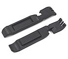 """Бортировочная лопатка (1+1 → клещи) для снятия замка цепи 2-в-1 """"трансформер"""", ABS-пластик, толщина 7-8 мм, фото 4"""