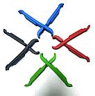 """Бортировочная лопатка (1+1 → клещи) для снятия замка цепи 2-в-1 """"трансформер"""", ABS-пластик, толщина 7-8 мм, фото 5"""