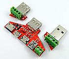 Адаптер переходник универсальная плата JUWEI KH-819 (JW-ZSB, JW-025) для разных USB-разъемов, фото 3