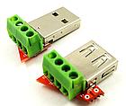 Адаптер переходник универсальная плата JUWEI KH-819 (JW-ZSB, JW-025) для разных USB-разъемов, фото 5