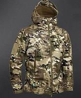Тактическая куртка На Флисе ESDY SoftShell Ranger Мультикам, фото 1