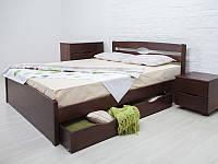 Кровать Лика Люкс с ящиками. ТМ Олимп