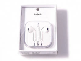 Гарнитура Apple EarPods with Remote and Mic (MD827) Оригинал Retail Box