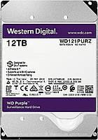 Накопитель HDD SATA 12.0TB WD Purple 7200rpm 256MB (WD121PURZ)