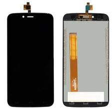 Дисплей Homtom HT50 с сенсором (тачскрином) черный