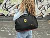 Женская спортивная сумка Puma Ferrari, черная, фото 2