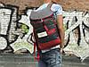 Чоловічий рюкзак сірого кольору, фото 2
