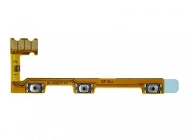 Шлейф Huawei P Smart Plus INE-LX1, Nova 3i, Mate 20 Lite SNE-LX1, SNE-L21 з кнопкою включення і кнопками регулювання гучності