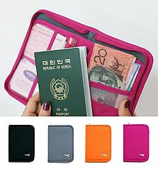 Органайзер туристический / дорожный / авиа для документов билетов паспортов компактный 18,5 * 13 см