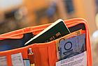 Органайзер туристичний / дорожній / авіа для документів квитків паспортів компактний 18,5 * 13 см, фото 4