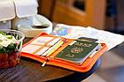 Органайзер туристичний / дорожній / авіа для документів квитків паспортів компактний 18,5 * 13 см, фото 5