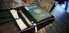 Органайзер туристичний / дорожній / авіа для документів квитків паспортів компактний 18,5 * 13 см, фото 8