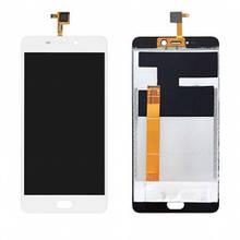 Дисплей Leagoo T5, T5C с сенсором (тачскрином) белый