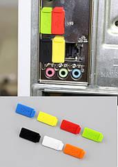 Заглушки силиконовые изолирующие защитные в USB-порт от пыли / грязи / воды / дождя