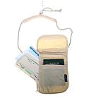 """Органайзер туристичний / дорожній документів паспортів компактний на шию ТМ """"TRAVEL CHECK"""" 20 * 14.5 см, фото 3"""