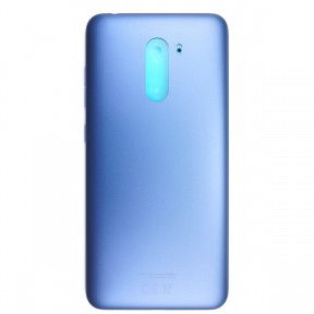 Задняя крышка Xiaomi Pocophone F1 синяя, Steel Blue, Оригинал Китай
