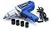 Электрический ударний гайковерт RIPPER 2000W + Набор головок, фото 5