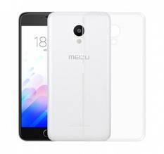 Чехол силиконовый для Meizu M5c прозрачный