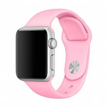 Ремешок для смарт-часов Apple Watch 4244mm Sport Band Light Pink, размер SM