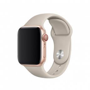 Ремешок для смарт-часов Apple Watch 4244mm Sport Band Stone, размер SM, фото 2