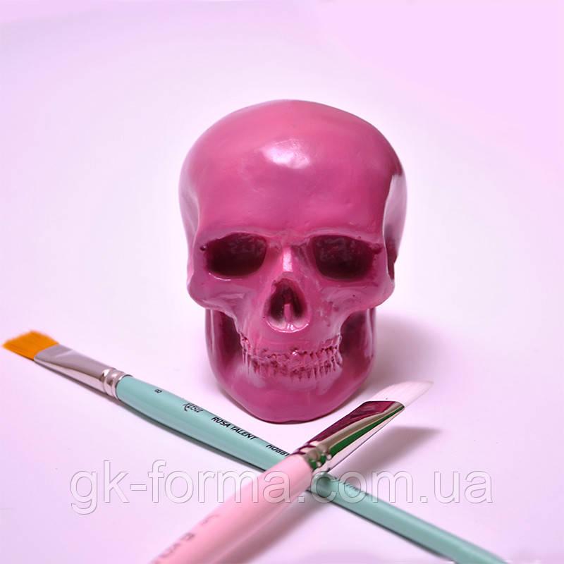 Маленький череп из гипса (статуэтка,фигурка,сувенир)