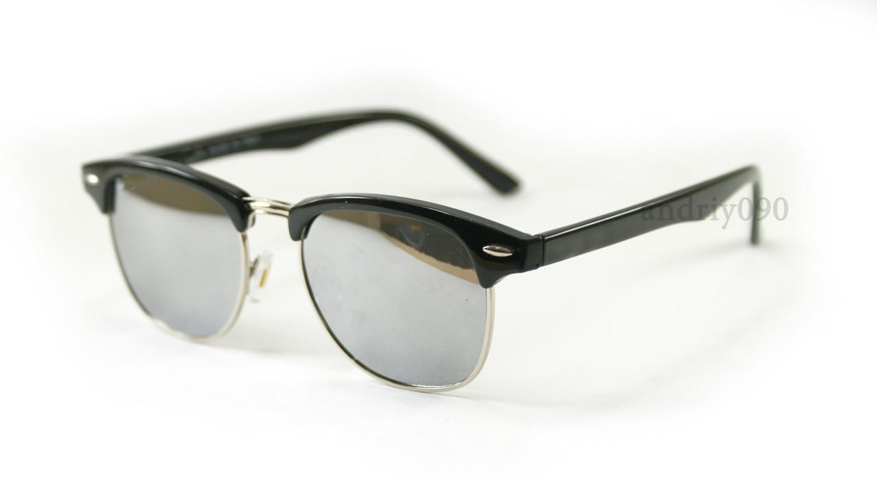 Солнцезащитные очки RB Clubmaster Клабмастер Silver