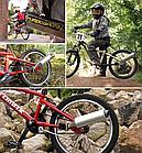 """Глушник / резонатор / імітація звуку мото Turbospoke """"MOTOCARD"""" для дитячого велосипеда T500 / T250 / T100, фото 2"""
