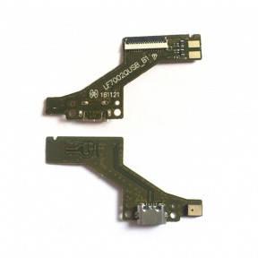 Нижняя плата Lenovo PB1-750M Phab с разьемом зарядки и микрофоном, LF7002QUSBB1, фото 2