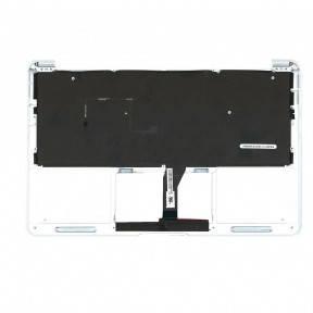 Клавиатура для ноутбука Apple MacBook Air 2012 A1465 с топ панелью горизонтальный энтер черный, фото 2