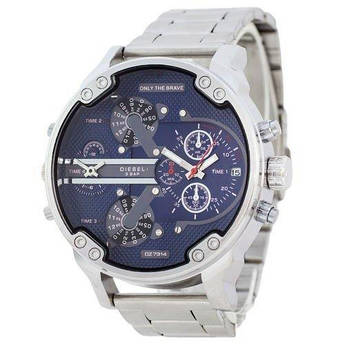 Часы Diesel DZ7314 Steel Silver-Blue - 224933
