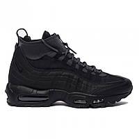 Кроссовки Nike Air Max 95 Sneakerboot Black найк аир макс