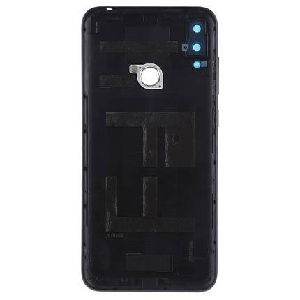 Задняя крышка Huawei Y7 2019 (DUB-LX1) черный, Midnight Black, Оригинал Китай, фото 2