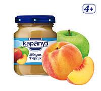 Пюре «Яблуко і персик»