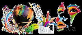 Создание и печать: визиток, флаеров, баннеров, наклеек и др. полиграфических дизайнов
