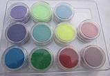 Бархатный песок малиново-пурпурный, фото 5