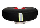 Седло вело / велосипедное анатомическое BATFOX K-0284 с выемкой по центру PU кожа (5 цветов), фото 4
