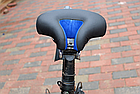 Седло вело / велосипедное анатомическое BATFOX K-0284 с выемкой по центру PU кожа (5 цветов), фото 5
