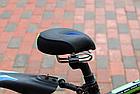Седло вело / велосипедное анатомическое BATFOX K-0284 с выемкой по центру PU кожа (5 цветов), фото 8