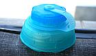 Фляга мягкая складная многоразовая походная компактная с жёстким дном (750 мл / 0,75 л) ТМ «BONLEX», фото 5
