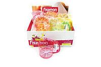 Кружка-сито кухонное пластиковое для муки Fissman 10х16 см PR-7669.FS, фото 1