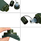 Фляга мягкая складная силиконовая TPU многоразовая походная компактная (250 мл / 0,25 л) ТМ «BONLEX», фото 5