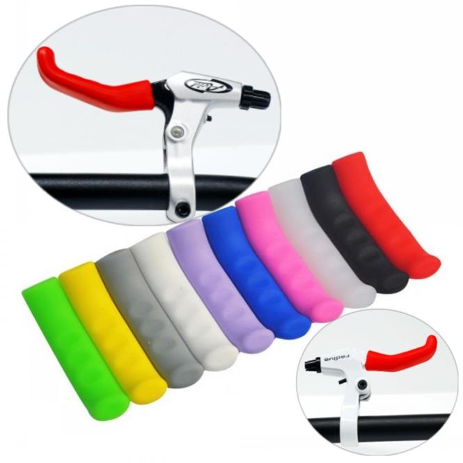 Чохол / силіконова накладка ТМ «SOUL TRAVEL» захист на рукоятки гальм (9 кольорів)