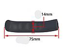 Чохол / силіконова накладка ТМ «SOUL TRAVEL» захист на рукоятки гальм (9 кольорів), фото 7